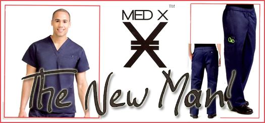 Alamedia Medical Scrubs for Men